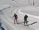 Langlauf-Loipe auf der Gnadenalm bei Obertauern