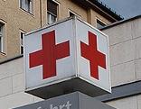 Rettungszufahrt in einem Krankenhaus