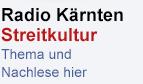 Radio Kärnten Streitkultur Promobutton