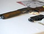 Pumpgun und Munition