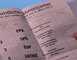 Landtagswahl: Reihenfolge für Stimmzettel festgelegt