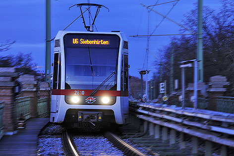 Garnitur der U-Bahn-Linie U6