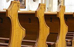 Kruzifix in der Kirche