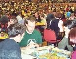 Blick auf das Spielefest