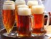 Tablett mit Bier