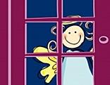 Steht das Christkind vor der Tür