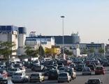 SCS Parkplatz Verkehr