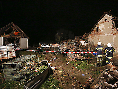 Explosion in Kapfenstein