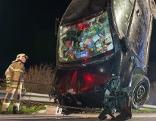 Verkehrsunfall auf der A1