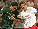Celtic Glasgow gegen Red Bull Salzburg (mit Kapitän Jonatan Soriano)