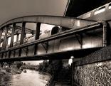 Brücke über den Donaukanal
