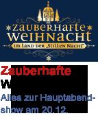 """Logo der TV Show """"Zauberhafte Weihnacht im Land der Stillen Nacht"""""""
