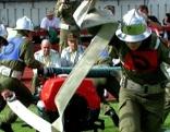 Feuerwehrjugend beim Wettkampf