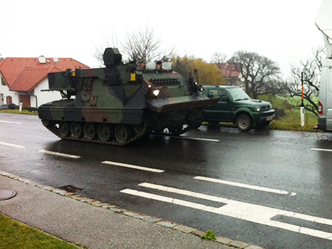 Panzer für die Rosalia