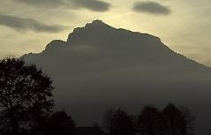 Der Untersberg im Abendlicht