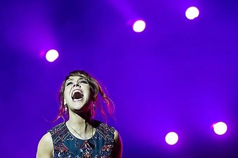 Französische Sängerin Zaz