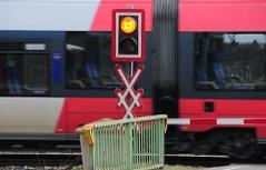 Sujetbild Eisenbahn Bahnübergang