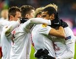 Spieler von Red Bull Salzburg jubeln