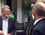 Ärztekammerpräsident Karl Forstner (links) und Spitalsreferent Christian Stöckl