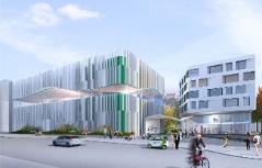 Projekt Berger+Parkkinen zum Neubau des Paracelsusbades