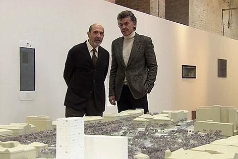 Isay Weinfeld und Michael Tojner