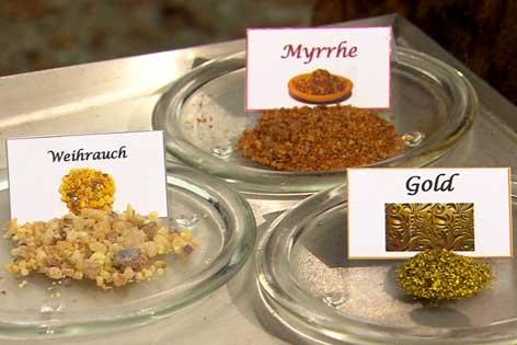 Weihrauch Myrrhe Gold