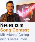 """ORF Wien-Moderator Patrick Budgen moderiert """"Vienna Calling"""""""