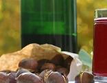 Uhudler-Glas mit Maroni