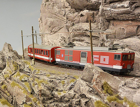 Modelleisenbahn Miniatur Wunderwelt Hamburg Modellbahn Roco