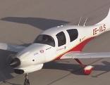 DA 50 Flugzeug  im Flug