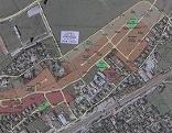 Plan mit eingetragenen Raumordnungszonen in Gemeinde