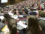 Vorlesung mit Studenten