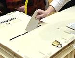 Stimmabgabe bei der Gemeinderatswahl in Purkersdorf