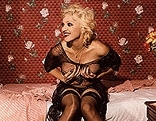 Bettina Rheims, Madonna laughing and holding her breasts, New York, September, 1994
