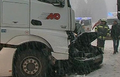 Feldkirchen Schnee Pkw Lkw tot turracher straße