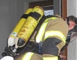 Feuerwehr bei Gasaustritt in Polling