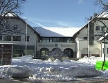 Gemeindeamt von Anif (Flachgau) im Schnee