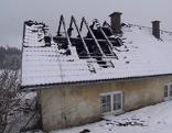 Abgebranntes Wohnhaus St. Oswald