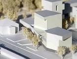Modell für die Verbauung der Riedenburg Kaserne