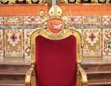 """Die """"Cathedra"""", der Sitz des Bischofs im Dom von Graz"""