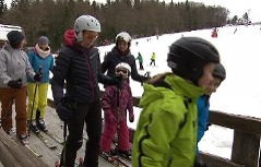 Kleines Skigebiet