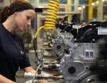 Arbeiterin im BMW Werk Steyr