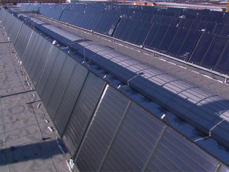Umweltpreis für HABAU für Solarheizung für Produktionshalle