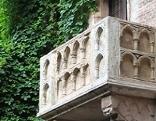 Balkon von Romeo und Julia in Verona