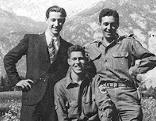 Franz Weber, Hans Wijnberg und Fred Mayer