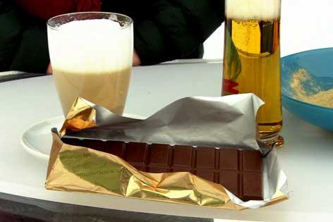 Kaffee, Schokolade und Bier