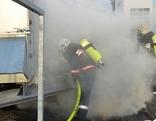 Brandalarm ist am Montag, 02. März 2015, in einem großen Modegeschäft auf der Wiener Mariahilfer Straße