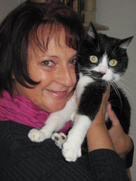 Katzenpsychologin Gaby Bunde
