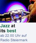 """""""Jazz at its best"""" auf Radio Steiermark"""