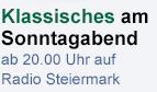"""""""Kultur Spezial - Konzert"""" - Sonntagabend auf Radio Steiermark"""
